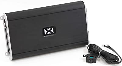 NVX VAD27001-2700W RMS Class D Monoblock Car/Marine/Powersports Amplifier with Bass Remote (Marine Certified)