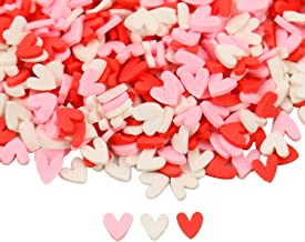 scented clay hearts