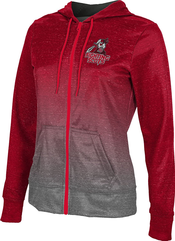 ProSphere Edinboro University Girls' Zipper Hoodie, School Spirit Sweatshirt (Ombre)