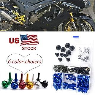 CNC Alloy Fairing Bolt Kit Bodywork Screws M5 M6 For Honda CBR1100XX CBR 1100 XX CBR 1100XX Blackbird 1996-2005
