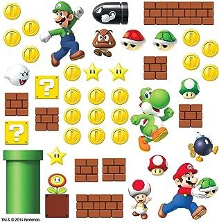 RoomMates RMK2351SCS Nintendo Súper Mario , etiquetas para la pared,45 unidades