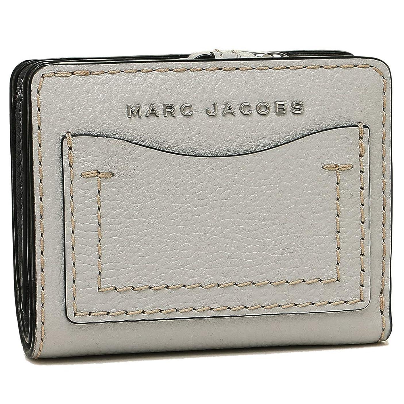 なるトリッキー禁じる[マークジェイコブス]折財布 レディース MARC JACOBS M0014522 071 グレー [並行輸入品]