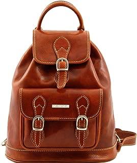 Tuscany Leather Singapore Leather - Backpack Honey