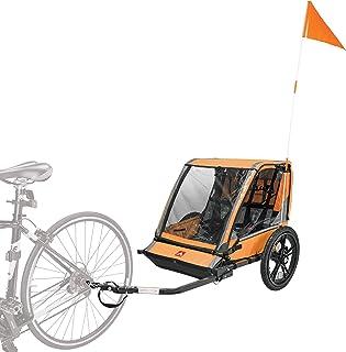 تریلر دوچرخه Allen Sports Hi-Viz 2 کودک ، مدل ET2