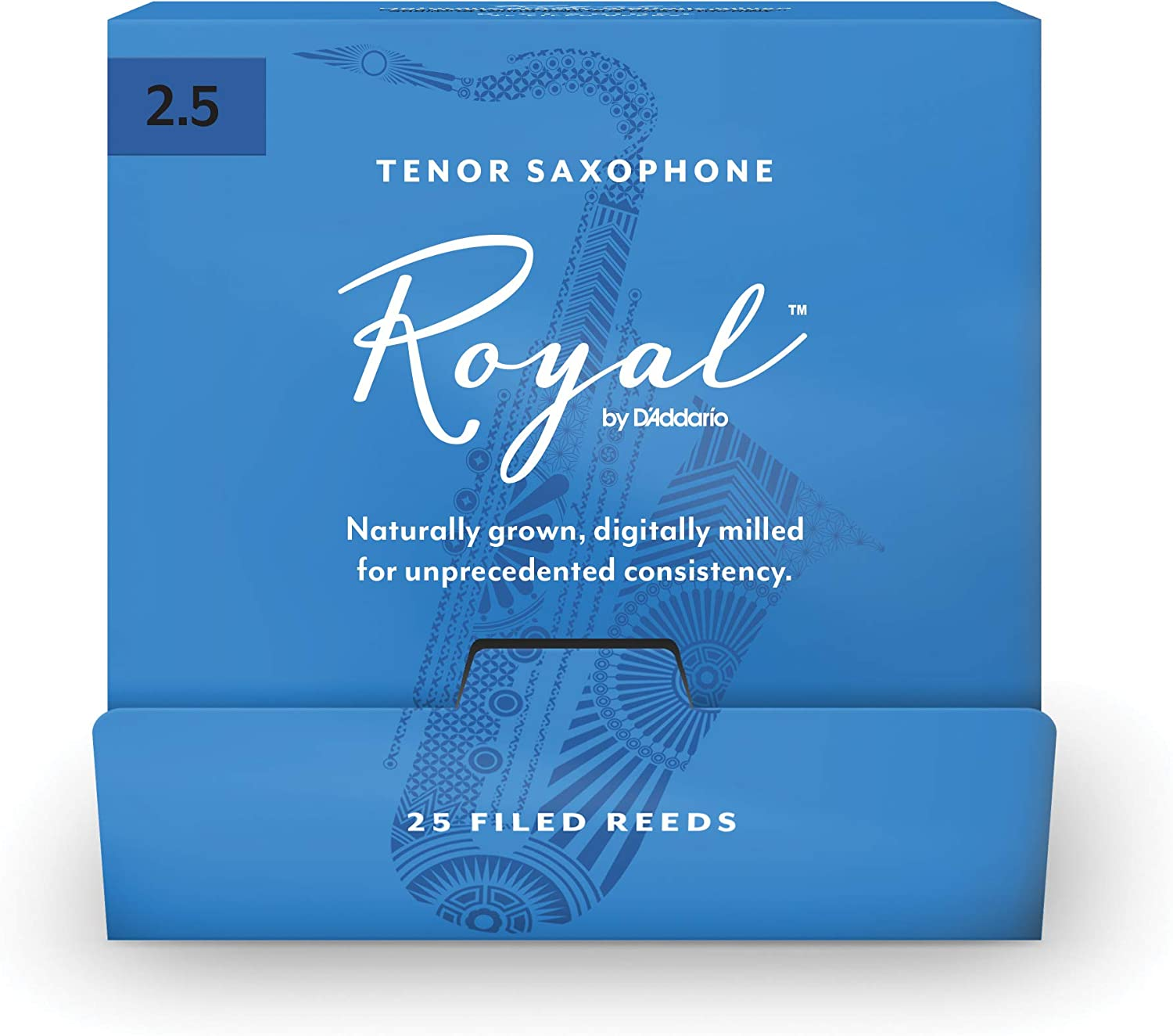 Royal by Super Special SALE held D'Addario Tenor Saxophone Max 70% OFF Reeds Single #2.5 25-Count