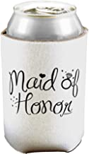 TooLoud Maid of Honor - Diamond Ring Design Can/Bottle Insulator Cooler - 2 Pack
