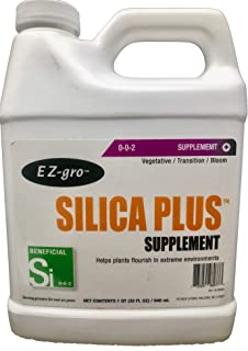 Liquid Silica by EZ-gro | Silica Supplements for Plants | EZ-gro`s Silica Nutrients for Plants is an Excellent Silica Fertilizer | Silica for Plants Increases Resistance to Environmental Stress