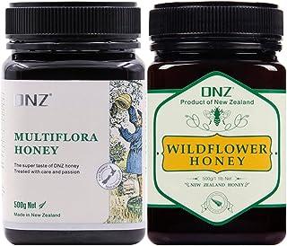 【新西兰进口】DNZ 野花蜂蜜 多花种蜂蜜 实惠组合装 两瓶装 500g*2
