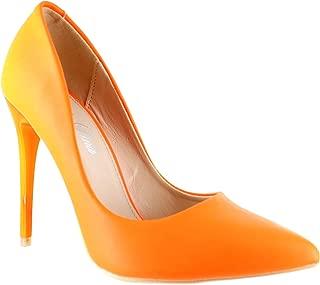 Urban Heels Womens Pointed Toe Pumps
