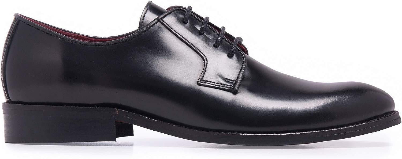 Castellanisimos Zapato Blucher Piel Florentic nero Hombre