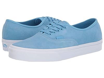 Vans Authentictm ((Soft Suede) Alaskan Blue/True White) Skate Shoes