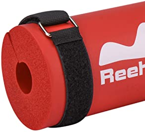 REEHUT Barbell Pad for Hip Thrusts,Squat Pad for Weight Bar - Foam Sponge Pad Provides Relief to Neck and Shoulders W...