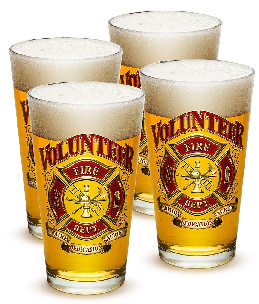 Pint Glasses u2013 Firefighter Gifts for Men or Women u2013 Volunteer Firefighter Beer Glassware u2013 Beer  sc 1 st  Amazon.com & Female Firefighter Gifts: Amazon.com