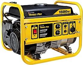 Tradespro - 1400W/1600W Gas Generator, Generators, Gasoline Powered Generators, (838016)