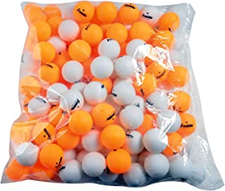 Franklin Sports Table Tennis Balls - Official Size and Weight 40mm Table Tennis Balls - One Star Professional Balls - Bulk Packs and Family Sets - White/Orange - Pack of 144