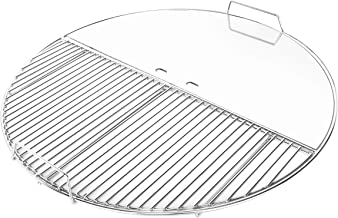 Skyflame Stainless Steel Modular Grill Grate with Half Round Searing Grate & Half Round Griddle Plate Fit for 22