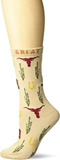 Ariat Women's Western Icon Ankle Sock