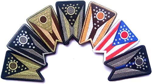 2Pcs NASA Commander Embroidered Sewing Iron On Patch Wing Applique Badge Fabric