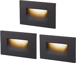 Set LED treppenbeleuchtug Stairs Light Wall Lamp Stainless Steel Dimmable 230V