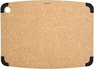 Epicurean Non-Slip Series Cutting Board, 17.5-Inch by 13-Inch, Natural/Slate
