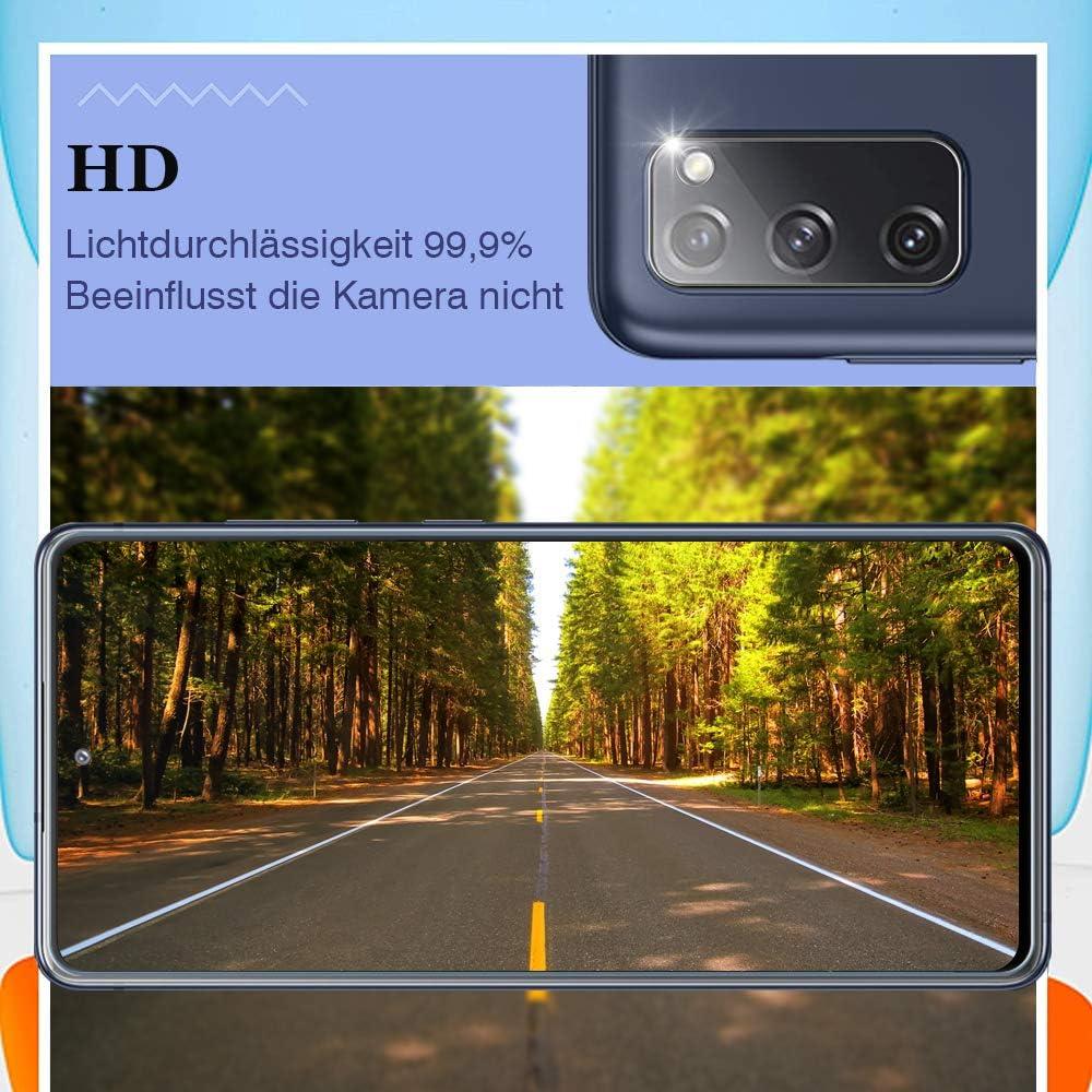 Sensitive Touch folie f/ür Google Pixel 4A Anti Fingerabdruck Anti-Kratzen 2 St/ück 9H H/ärte HD Clear Bodyguard Panzerglas schutzfolie f/ür Google Pixel 4A +Kamera Panzerglas, 4G ,
