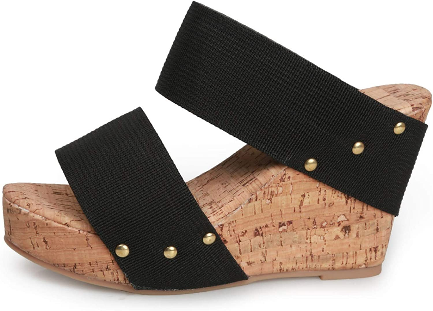 Wedges Sandal for Womens Summer Fashion Super intense SALE Strappy Columbus Mall Open O Ankle Toe