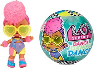LOL Surprise Dance Dance Dance Dolls with 8 Surprises Including Doll Dance Floor That Spins, Dance Move Card and Accessories - Great Gift for Girls Age 4-7