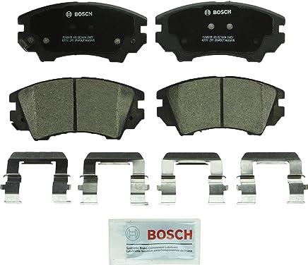 Bosch BC1404 QuietCast Premium Ceramic Disc Brake Pad Set For Buick: 2016-2017 Cascada; Chevrolet: 2010-2015 Camaro, 2011-2017 Caprice; Saab: 2011 9-5; Front