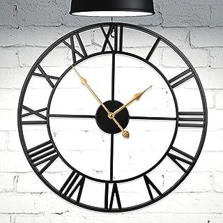 Extra Large Wall Clock Metal Wall Clocks Clocks Home Kitchen