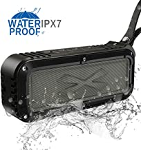 Outdoor Bluetooth Speaker,8Gtech Portable Waterproof Wireless Bluetooth Speaker with IPX7 Stereo HD Audio and Enhanced Bass,Dual Driver Speaker,Handsfree Calling,FM Radio (Outdoor speakers-B01)