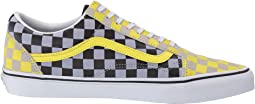 (Suede) Multi Check/True White