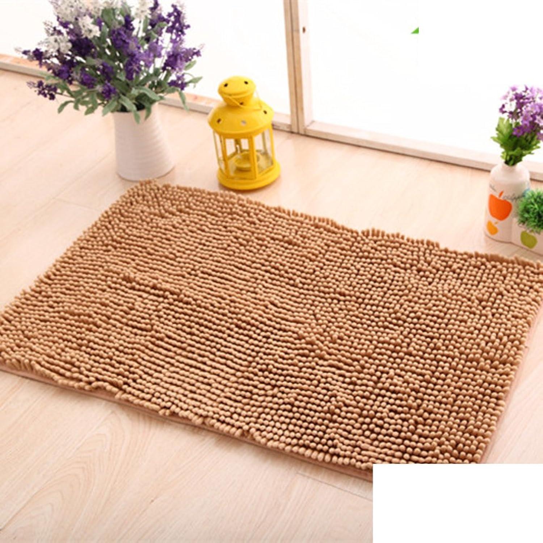 Simple mats Doormat Door [Living Room] Kitchen Floor mats Bathroom Foot Pad Water Absorption and Anti-skidding mat-B 70x140cm(28x55inch)