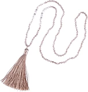 jewelry pendant tassel maxi green troddeln Tassel extra thick tassel chain pendant bohostyle