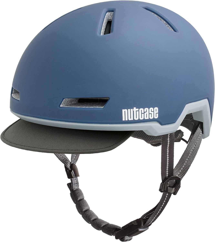 los nuevos estilos calientes Nutcase Nutcase Nutcase Tracer Storm azul Matte Bicicleta Casco E-Bike  entrega gratis