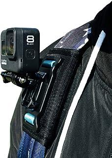 SUREWO Ryggsäck axelrem montering kompatibel med alla GoPro kameror, GoPro Hero 7/(2018)/6/5 svart hjälte 5/4 session/silv...