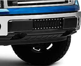 Modern Billet Stainless Steel Lower Bumper Grille Insert - Black - for Ford F-150 (Excluding Raptor, Harley Davidson & 2011 Limited) 2009-2014