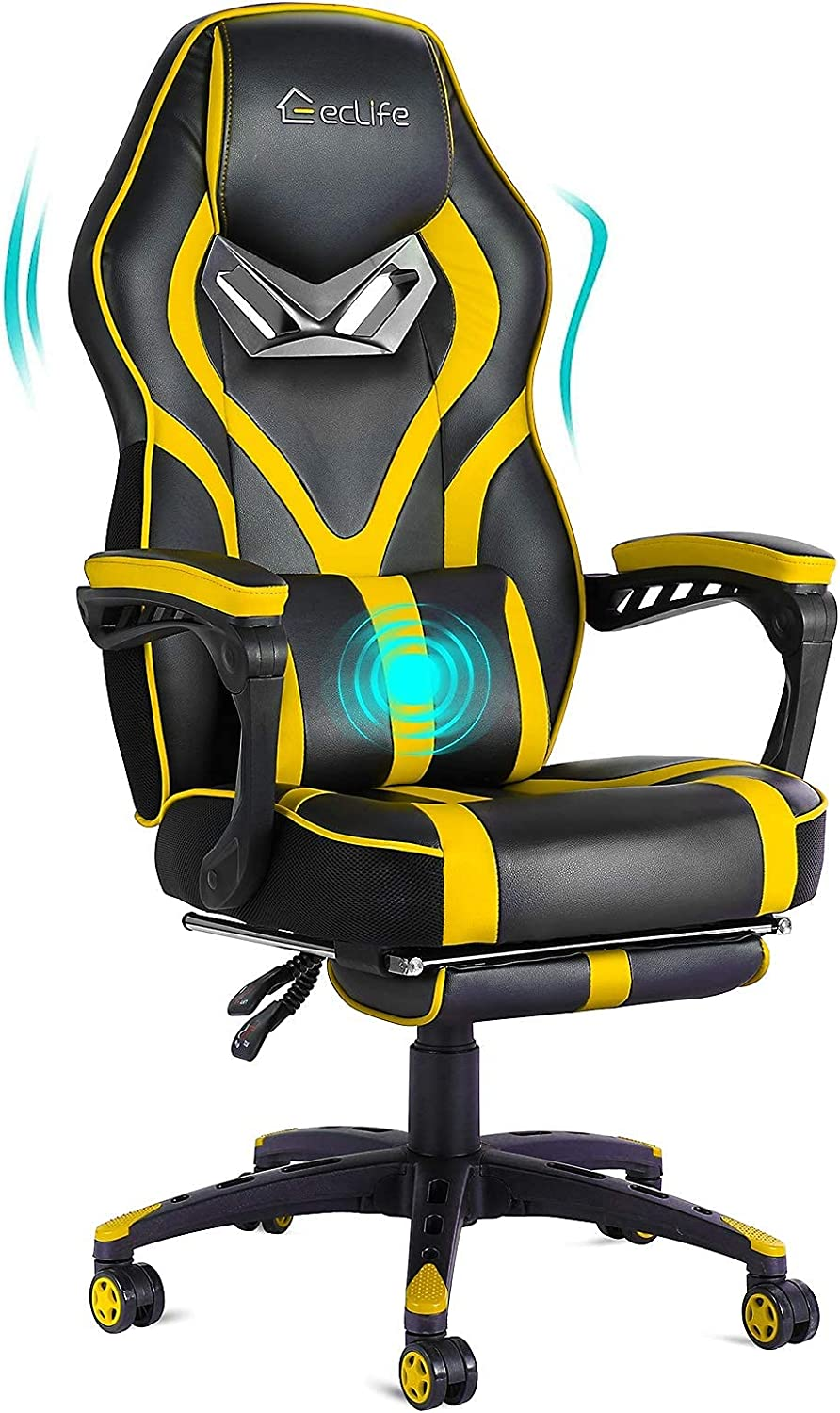 E-Sports Gaming Chair Racing Swivel Free shipping / New Adjustab outlet Height