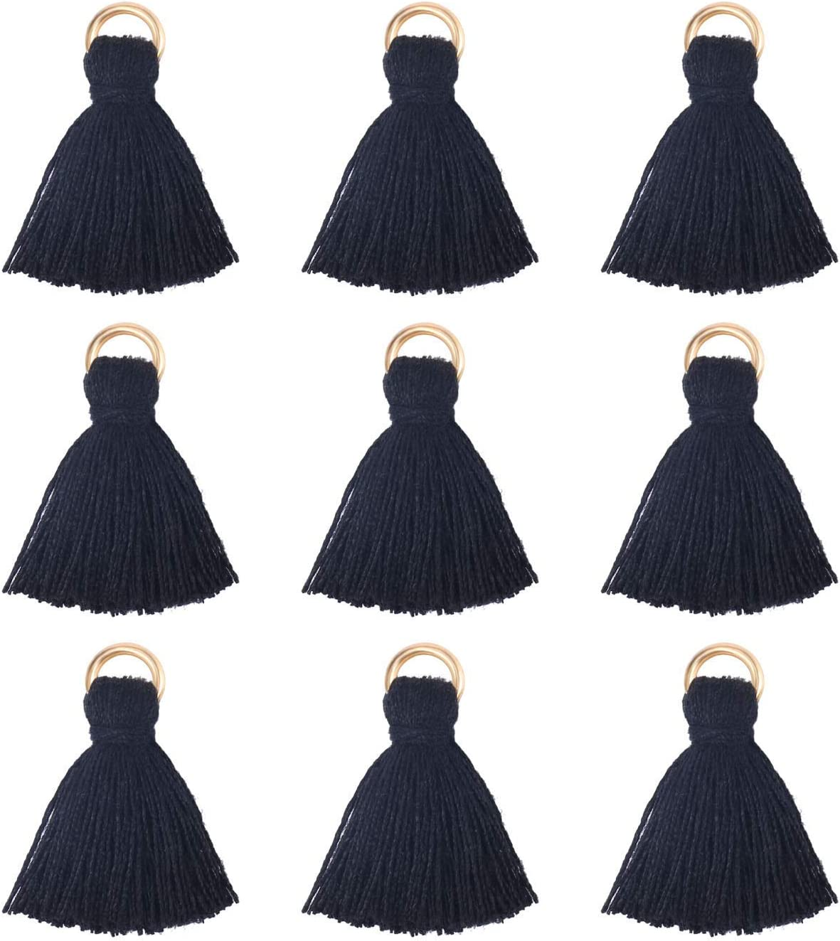 Wholesale Mini Black Tassel Special price Charms Thread Little Cotton Selling and selling Ta Short