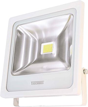 Taschibra TR LED 50 15030023-01, Refletor LED Incorporado a Peça, 50W, Branco