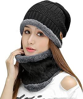 HINDAWI Womens Slouchy Beanie Winter Hat Knit Warm Snow Ski Skull Cap