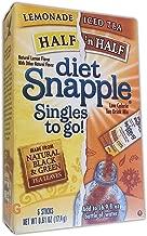 Snapple® Iced Tea Singles To-Go, Diet Green Tea, 0.25 Oz Stick, 6/Box