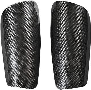 CL CARBONLIFE Carbon Fiber Shin Guard,Shin Pads Holders Best Soccer Equipment Knee Braces Leg Guard L