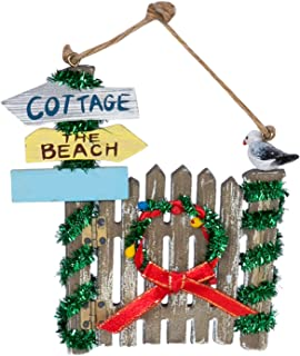 cottage christmas ornaments