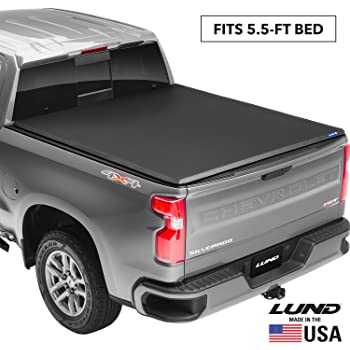 Gator ETX Soft Tri-Fold Truck Bed Tonneau Cover Fits 2007-2013 Toyota Tundra 5 5 w//o rail system Bed Made in the USA 59401
