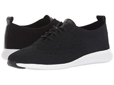 Cole Haan 2.Zerogrand Stitchlite Oxford (Black/Optic White) Women