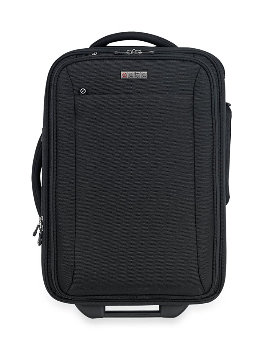 Sparrow II Wheeled Garment Bag (Black) - TSA FastPass Laptop Storage System to Breeze Through Security Checkpoints - Plus Added Backup Battery Charger to Help You Stay Connected While Traveling