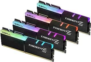 G.Skill TridentZ RGB Series 32GB (4x8GB) DDR4 3000MHz DIMM F4-3000C15Q-32GTZR