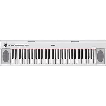 Bianco 61 Tasti Yamaha NP12WH Tastiera
