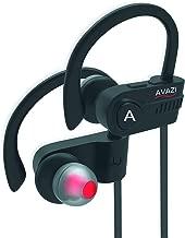 AVAZI [Upgraded 2020] Bluetooth 5.0 Headphones Sport IPX7 Waterproof Wireless Sport Earbuds, Richer Bass HiFi Stereo in-Ear Earphones, 7-9 Hrs, Running Headphones W/CVC6.0 Noise Cancelling Mic