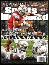 2015 Sports Illustrated Ezekiel Elliot Newsstand No Label Buckeyes Mint